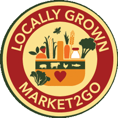 Market2Go Locally grown basket with produce