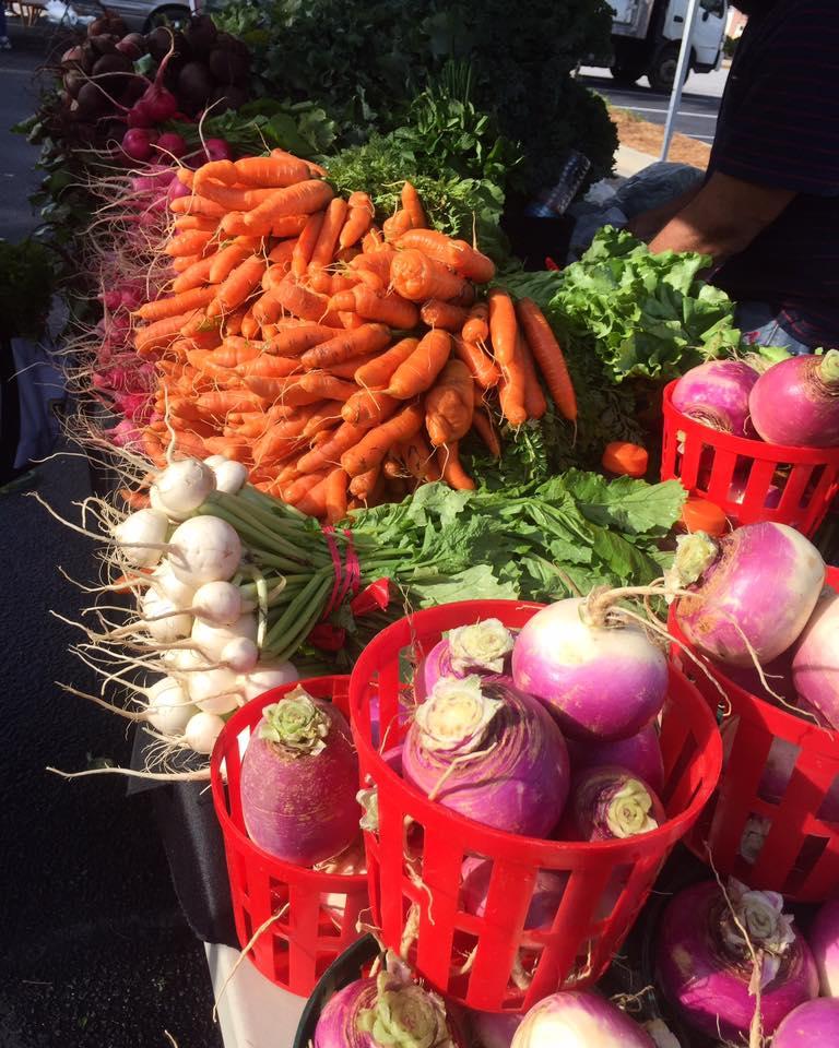 Vegetables from Poor Robin Gardens